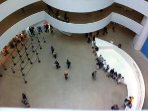 Italian Futurist Exhibit at the Guggenheim