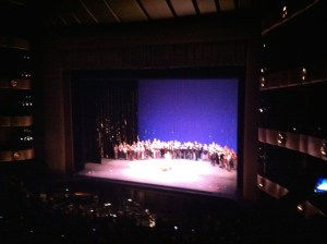 Farewell to Wendy Whelan. The NYCB on stage