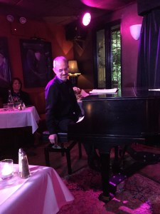 Mr. Ross Patterson at the Ivories