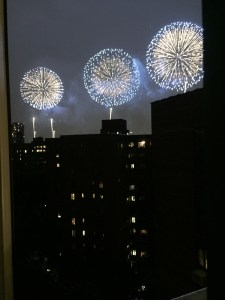 Fireworks, July 4, 2016