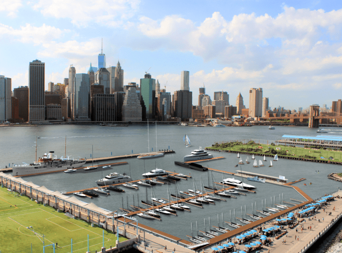 Photo courtesy of ONE°15 Brooklyn Marina.
