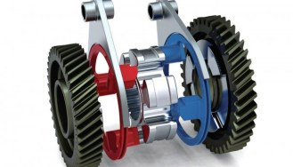 Ilustrasi : Seamless Shift Gearbox (SSG)