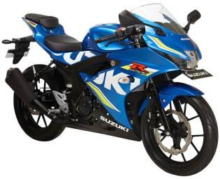 GSX-150R - Metallic Triton Blue