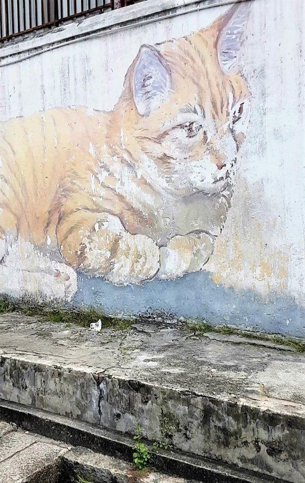 Penang Street Art, Armenian Street.
