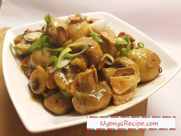 Mushroom, Chinese, gralic