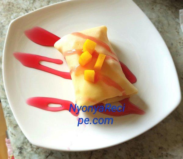 pancake, mango, Shrove Tuesday