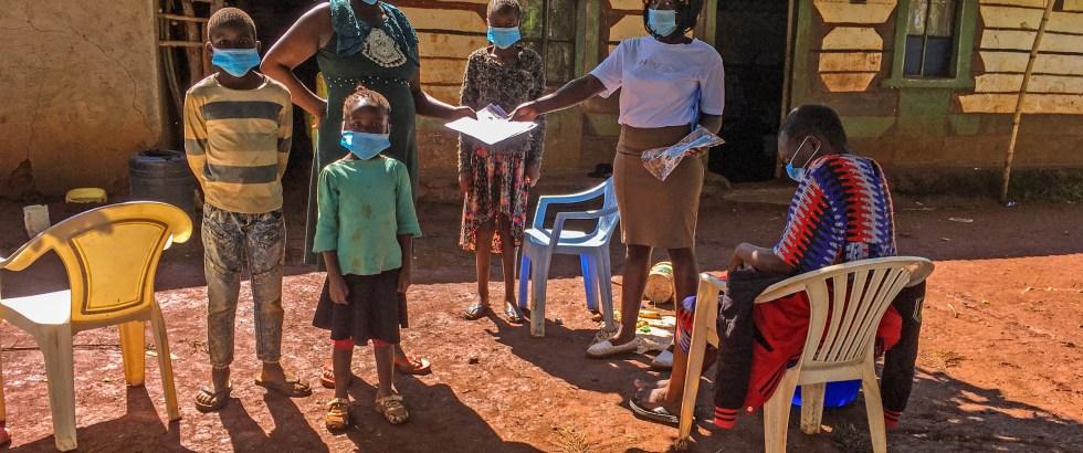 Aufklärungsarbeit und Lebensmittelversorgung Nyota