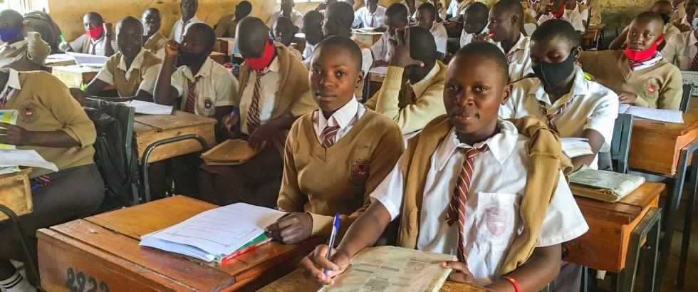 Erfolgreicher Schulstart 2021 in Kenia