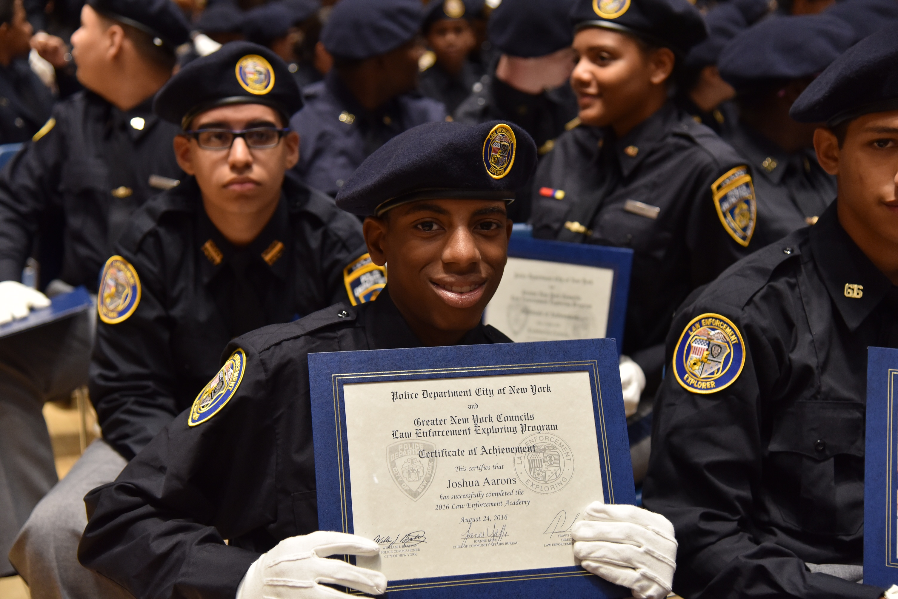 NYPD Explorers Graduate Law Enforcement Exploring Academy