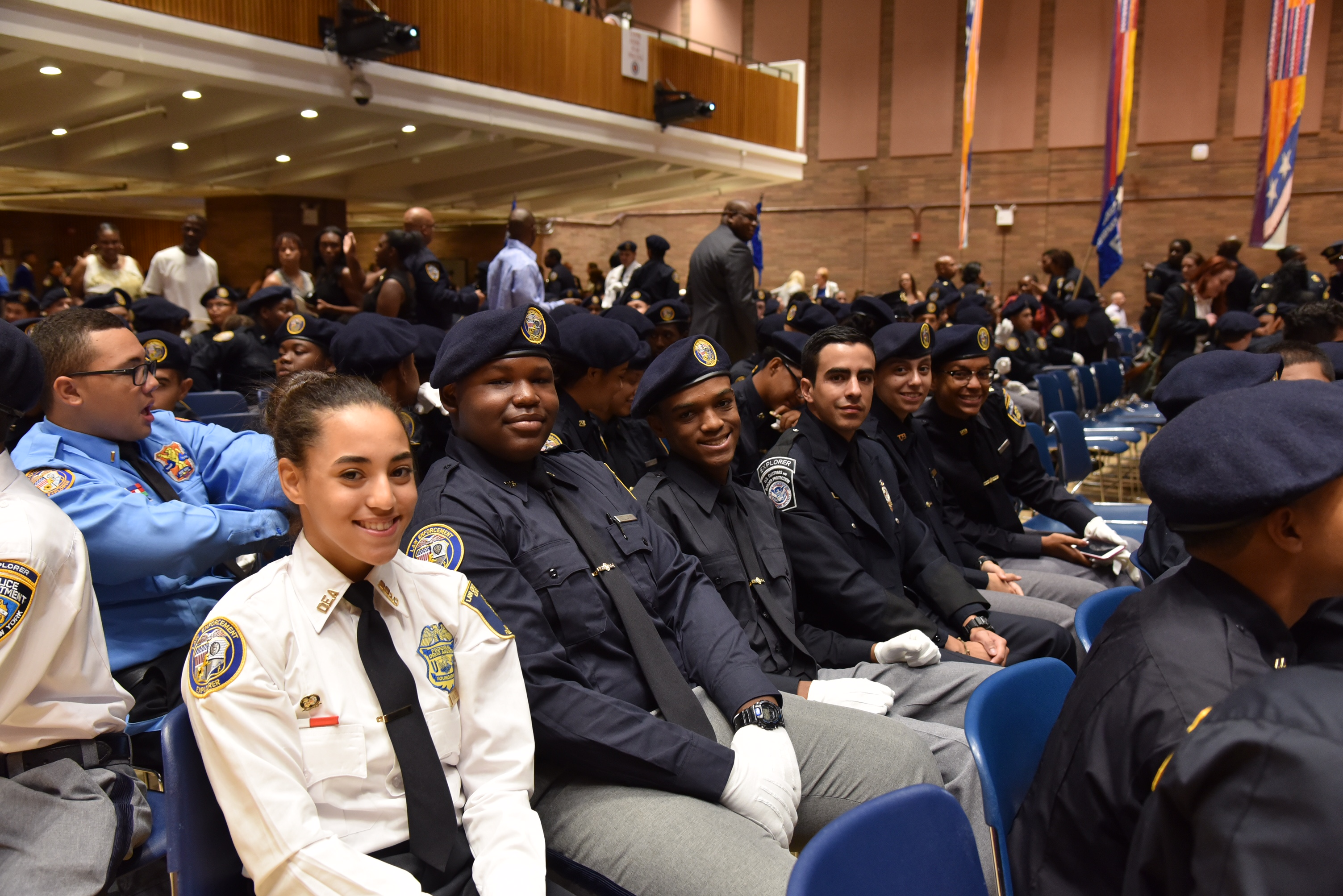 NYPD Explorers Graduate Law Enforcement Exploring Academy