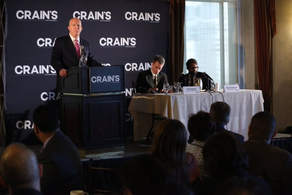 Police Commissioner O'Neill Speaks At Crain's 2016 Business