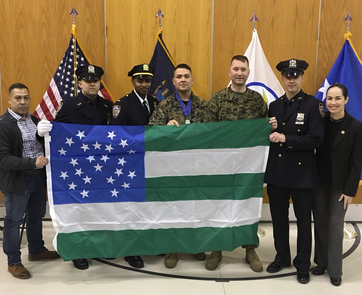 NYPD Officer Awarded the Governor's Medal of Valor for