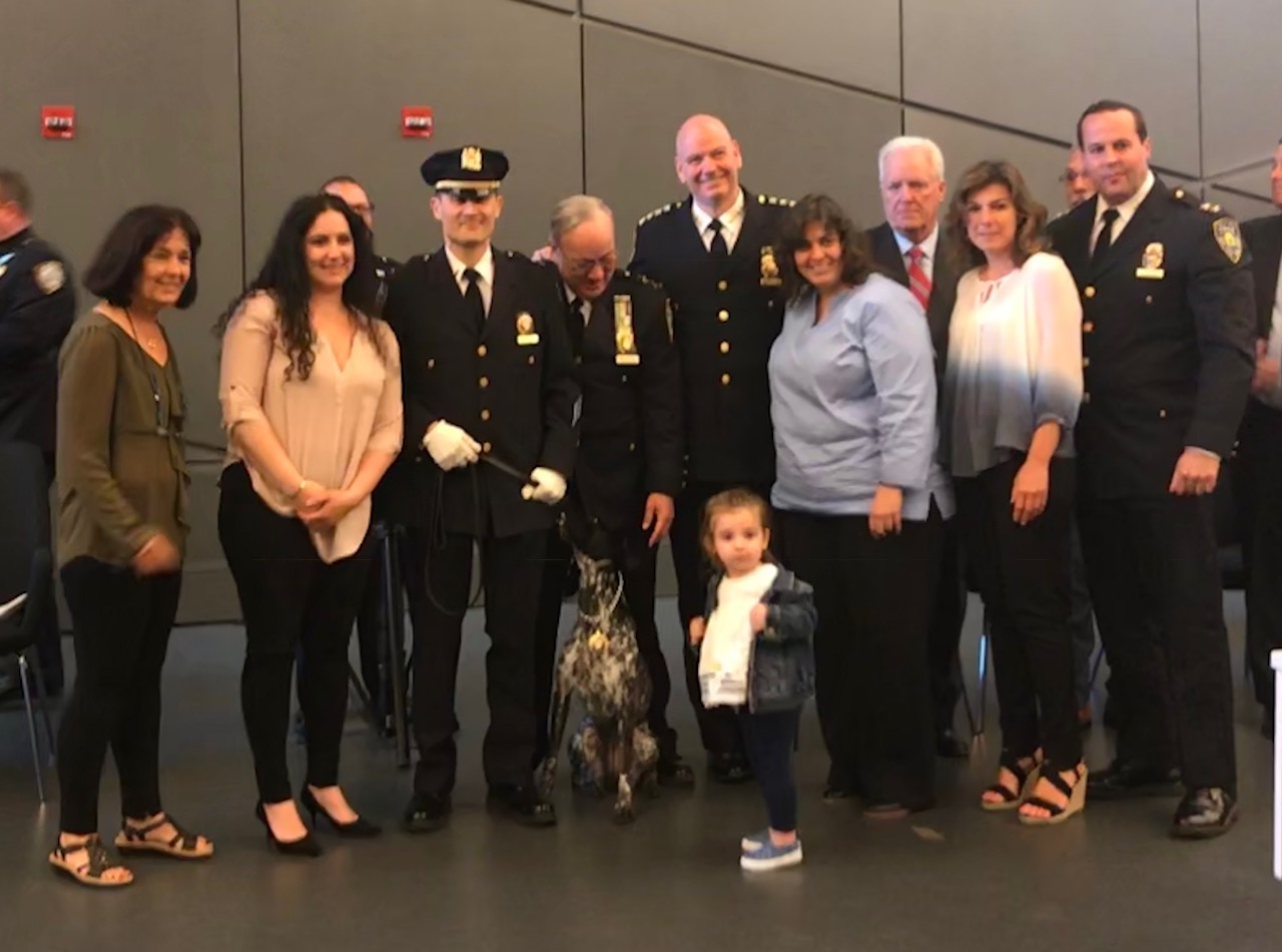 13 K9s and Handlers Join the Transit Bureau Canine Unit