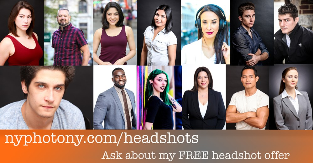 free headshots, new york headshots, headshots in new york, affordable headshots