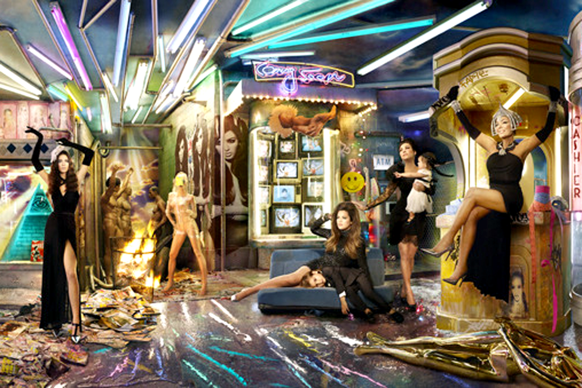 Kardashian Christmas Card 2020 Your guide to the 2013 Kardashian Christmas card
