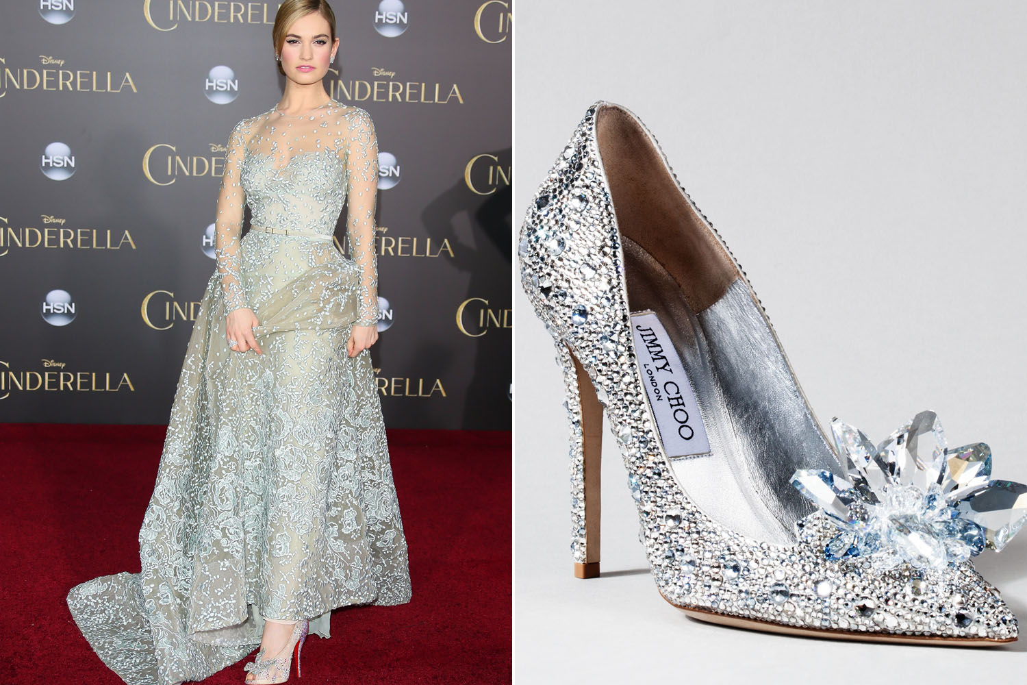 Jimmy Choo perfects glass slippers made