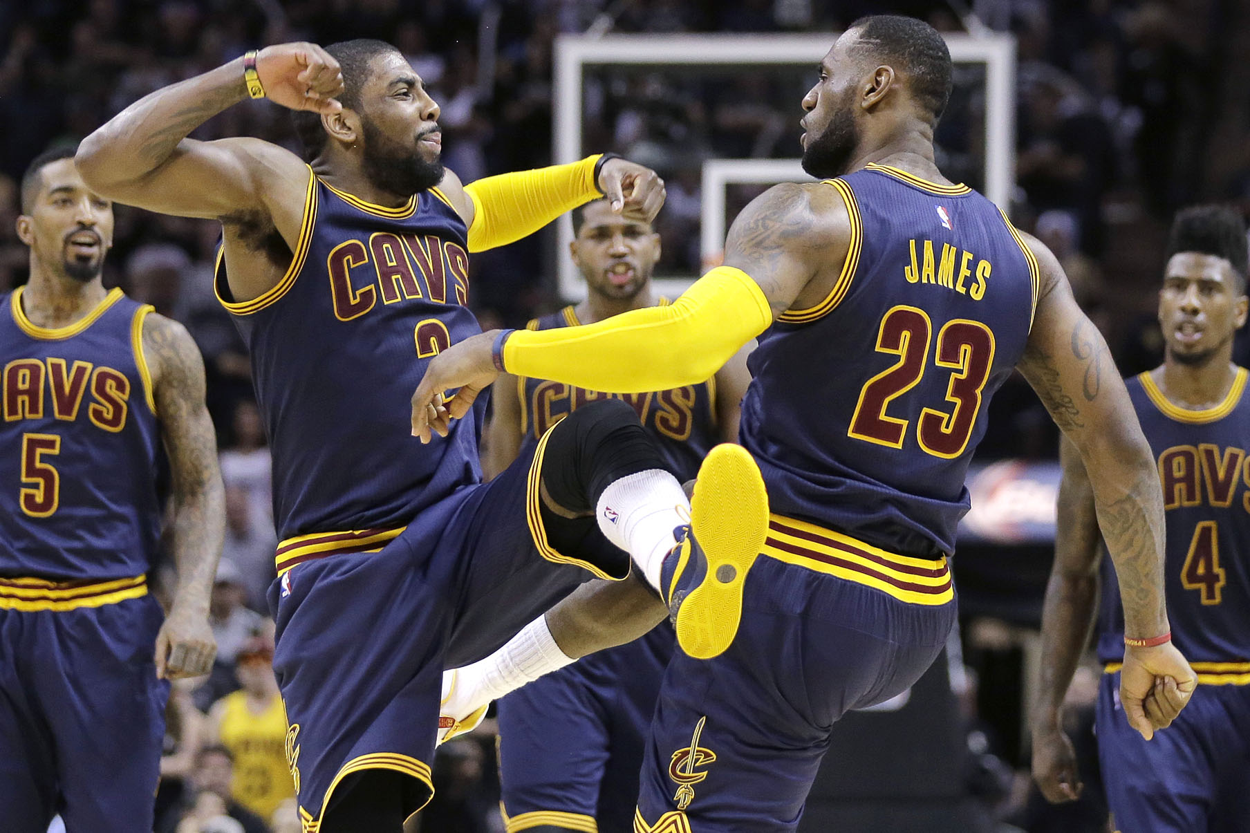 Check Out Highlights Of Irving S 57 Point Show In Cavs Ot Win