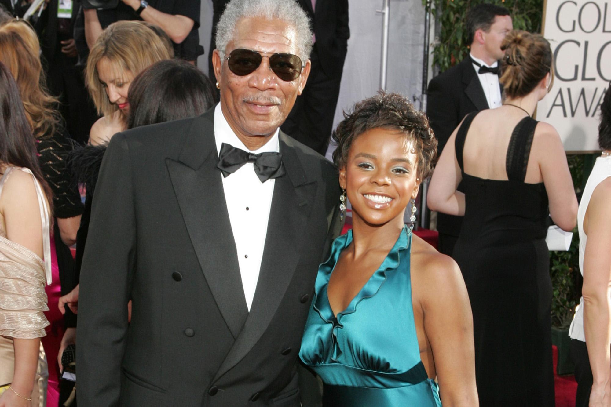 Freeman dead morgan Morgan Freeman