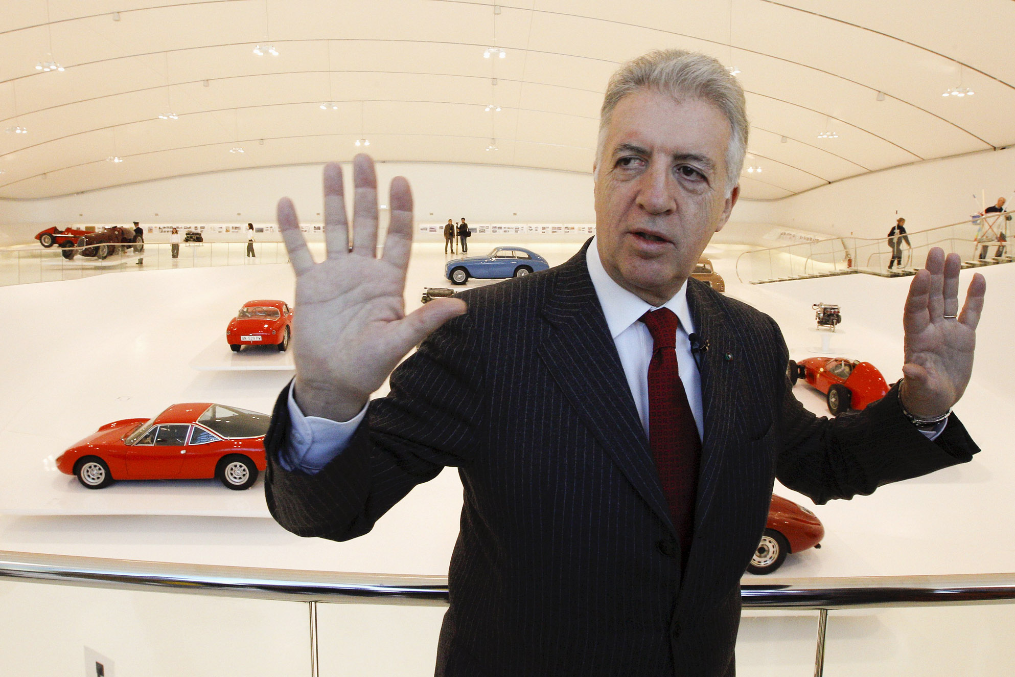 Italy S Newest Billionaire Is An Old Guy But He Drives A Pretty Sweet Car