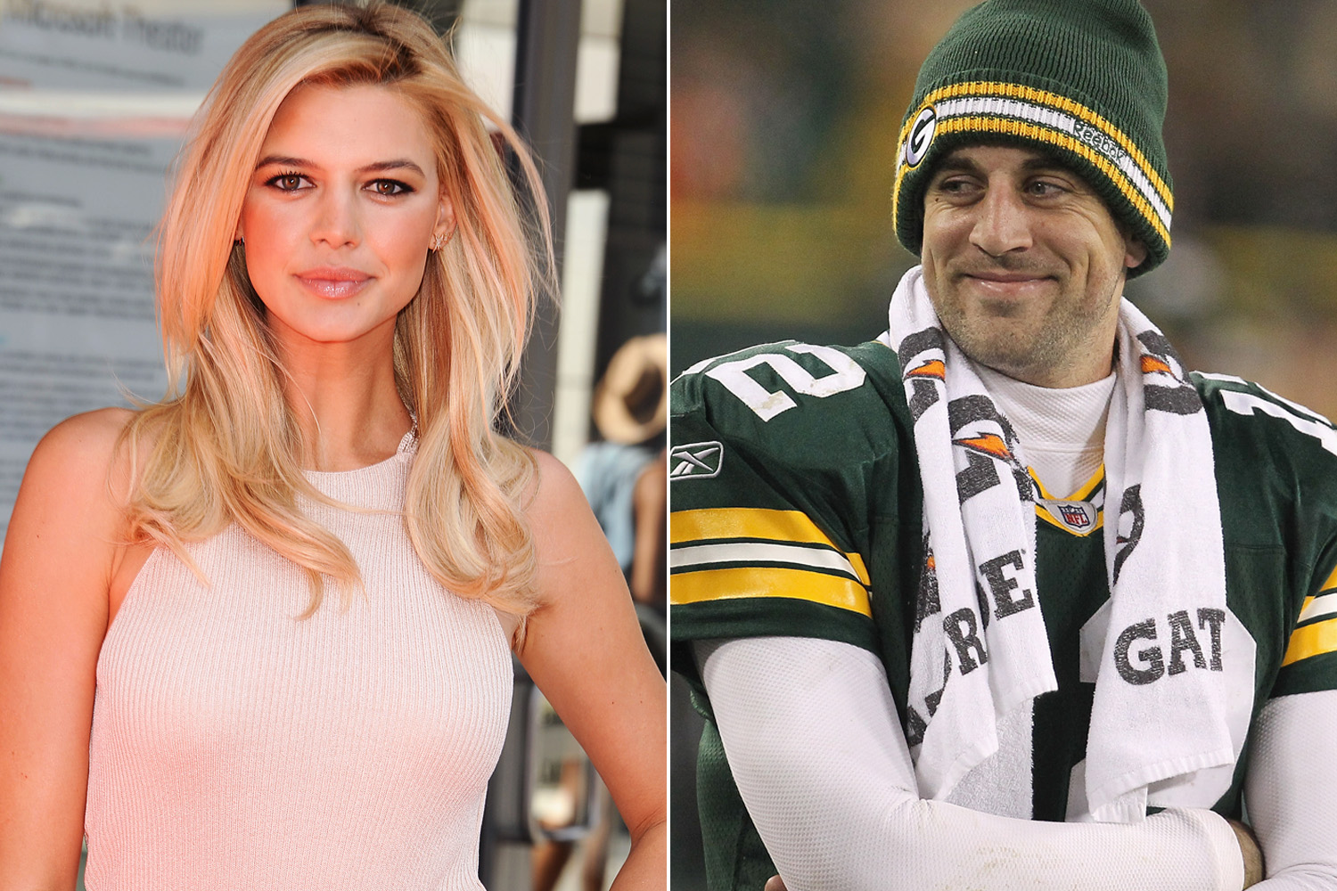 Aaron Rodgers Seen On Rebound Golf Date With Swimsuit Model