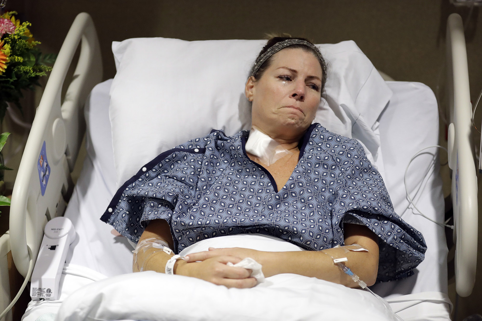 Nurse Shot In Vegas Attack Treated Her Own Bullet Wound