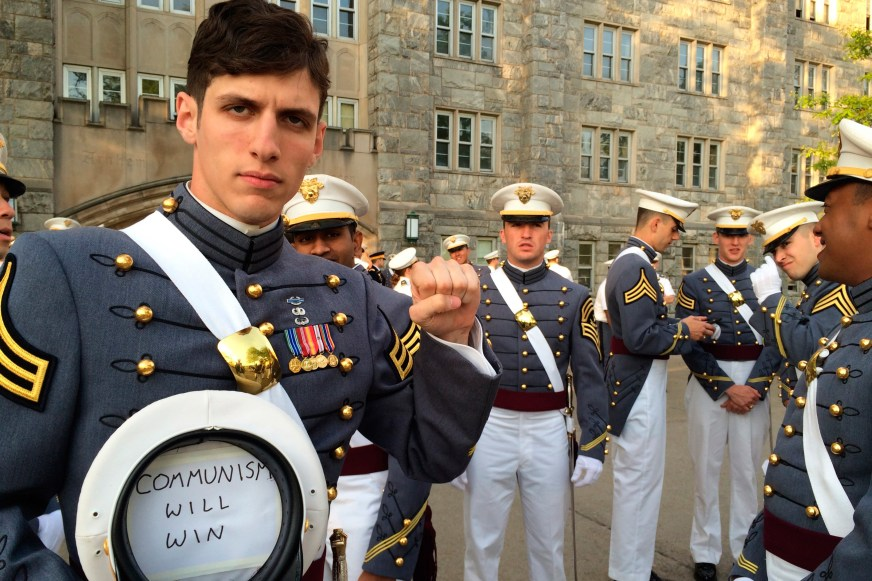 Army officially splits with West Point 'commie cadet ...