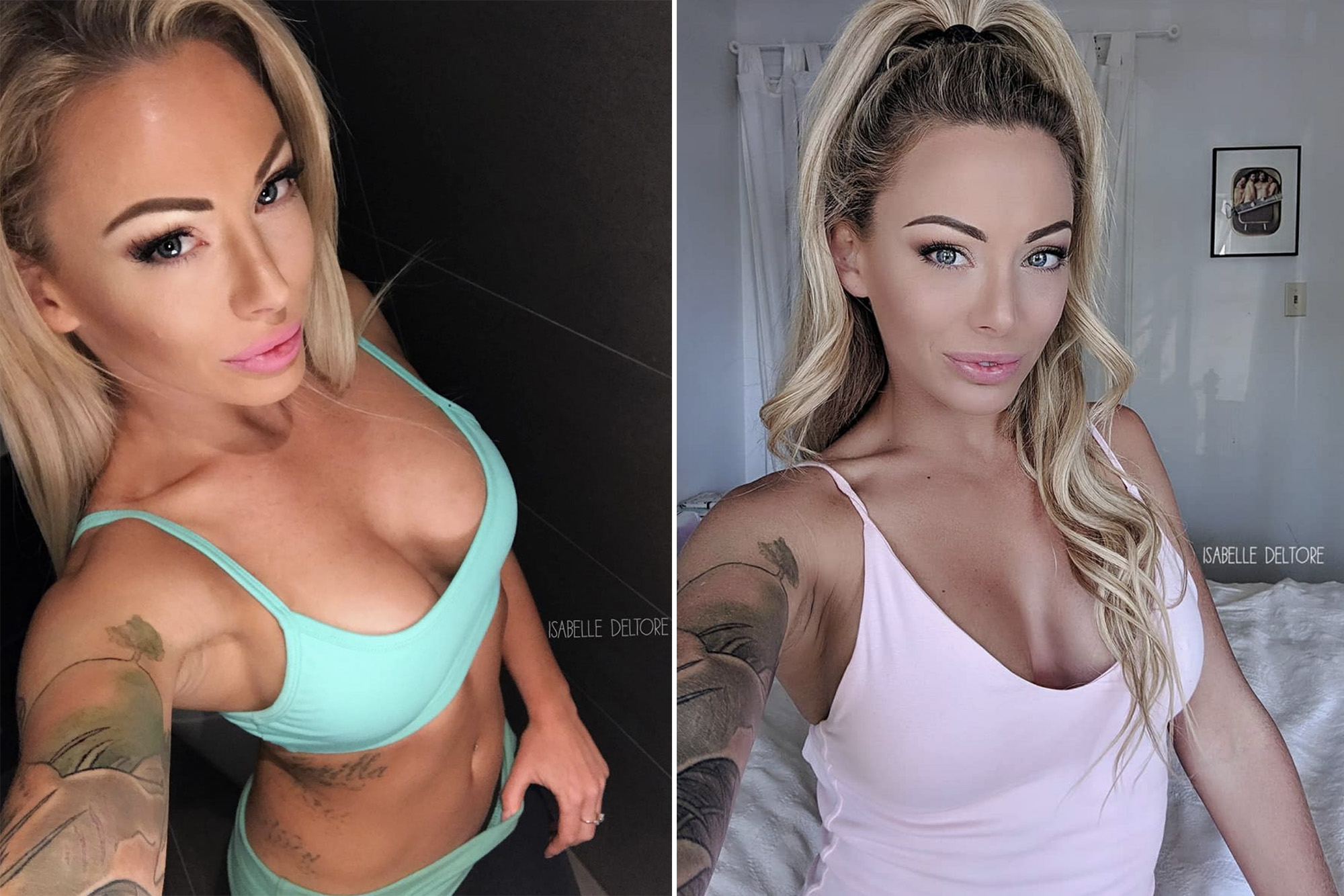 Nackt Isabelle Deltore  nude pictures,