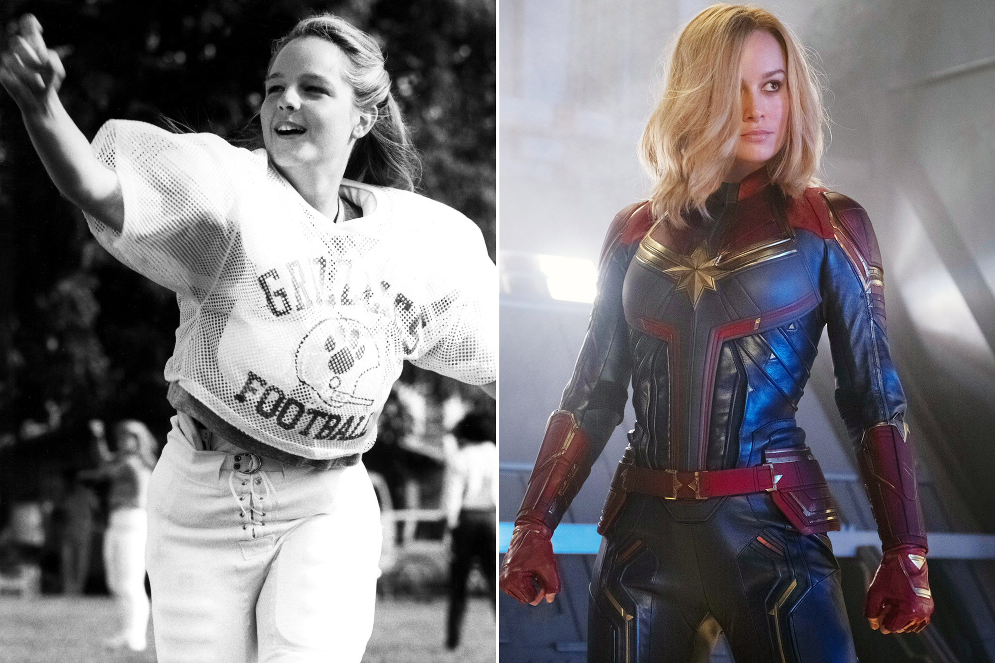 Before Captain Marvel Women Had A Quarterback Princess But most seem pretty happy just to have this first look at carol danvers, aka captain marvel, in costume. before captain marvel women had a