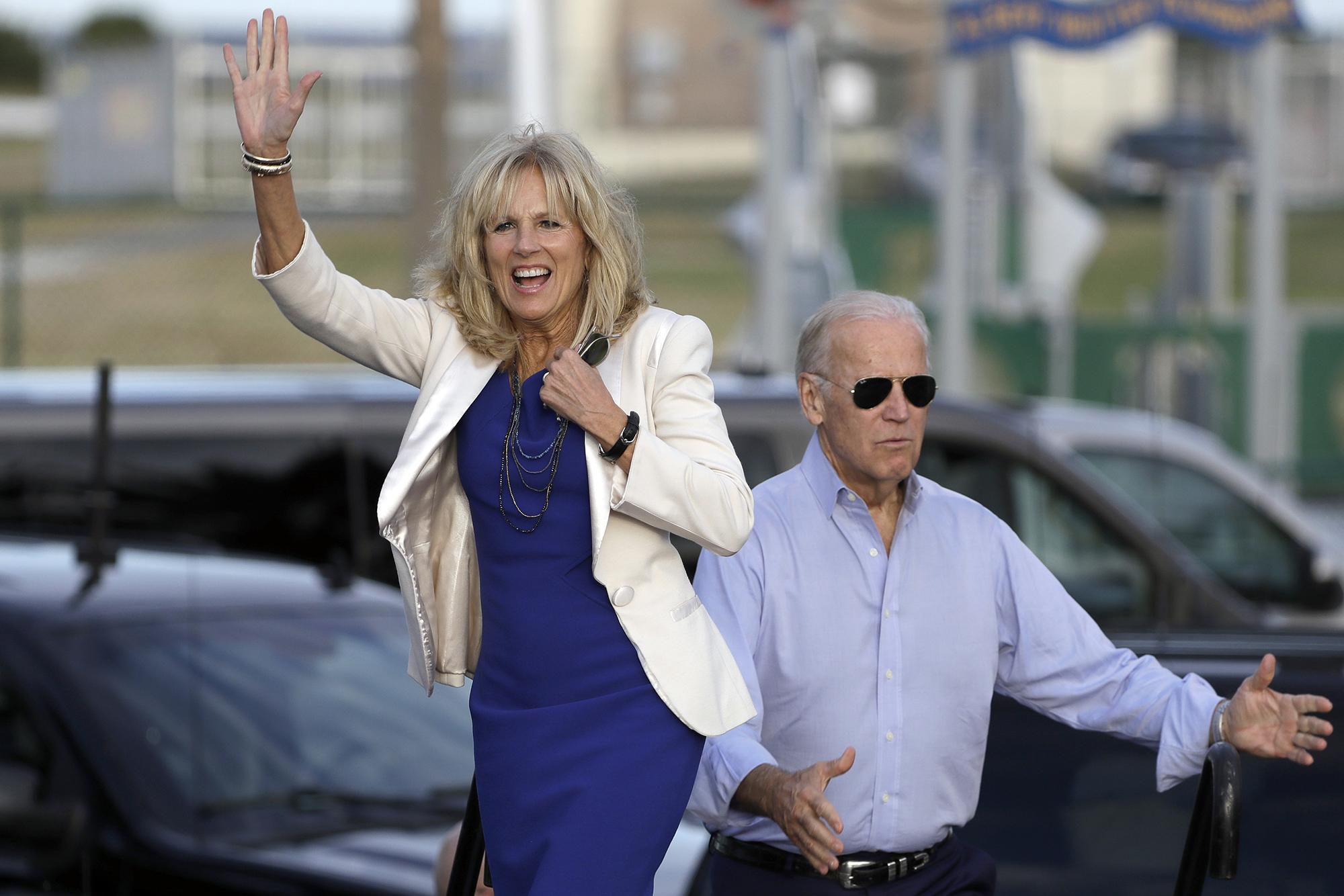 Jill Biden Memoir Young Joe Made Me Feel Uncomfortable