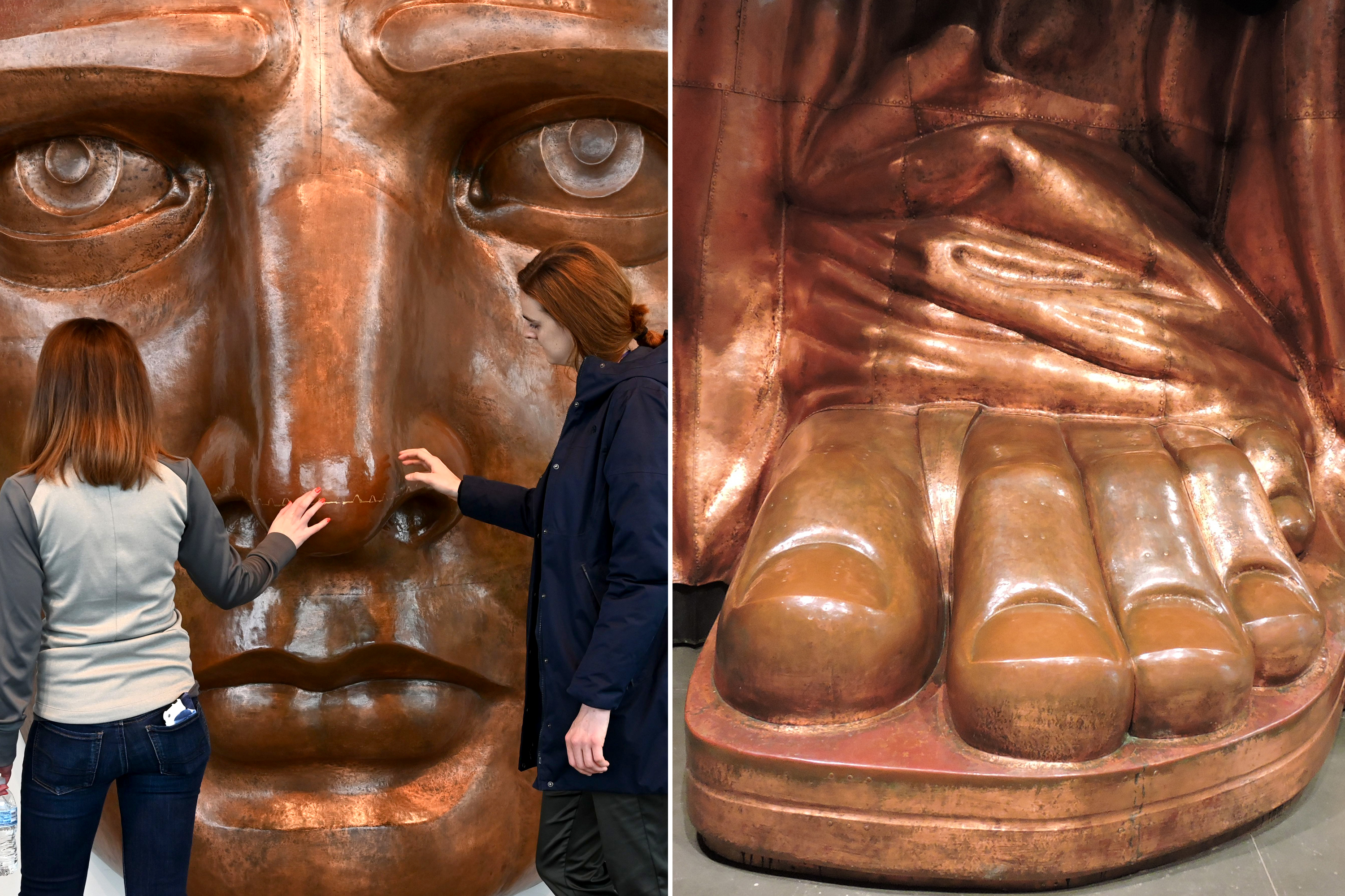 Statue Of Liberty Museum Lets You Check Her Out From Head To Toe