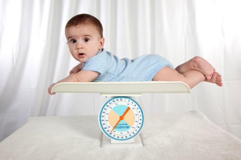 Норма прибавки веса у новорожденных по месяцам и полу по данным ВОЗ - 3