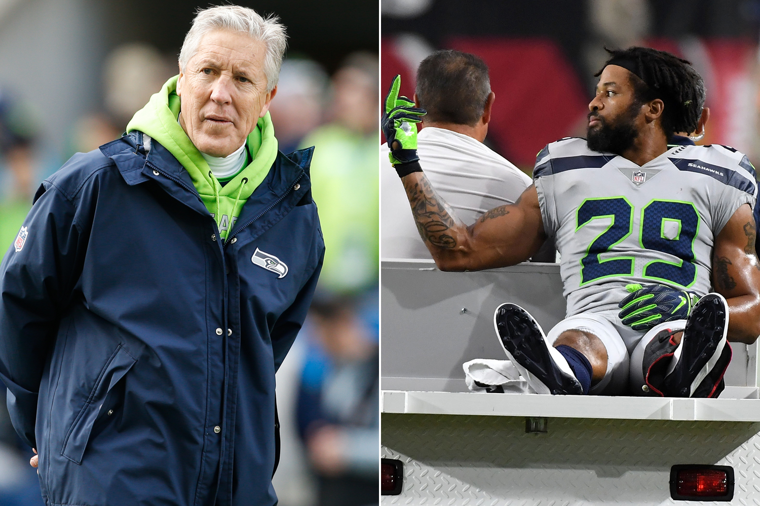 Earl Thomas One Middle Finger Regret Doesn T Involve Pete Carroll