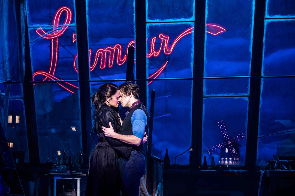 """The new mantra of """"Moulin Rouge! The Musical"""" on Broadway will be: Freedom, Beauty, Truth, Love and Tony."""