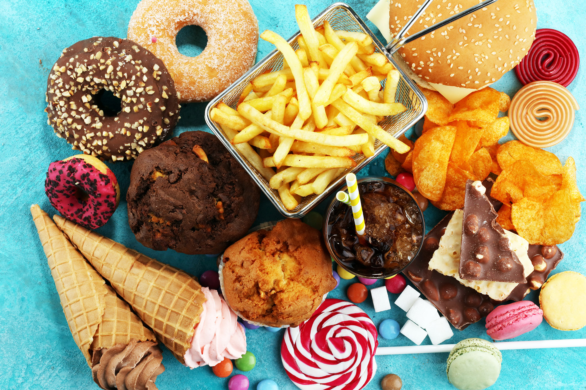 how to cut junk food