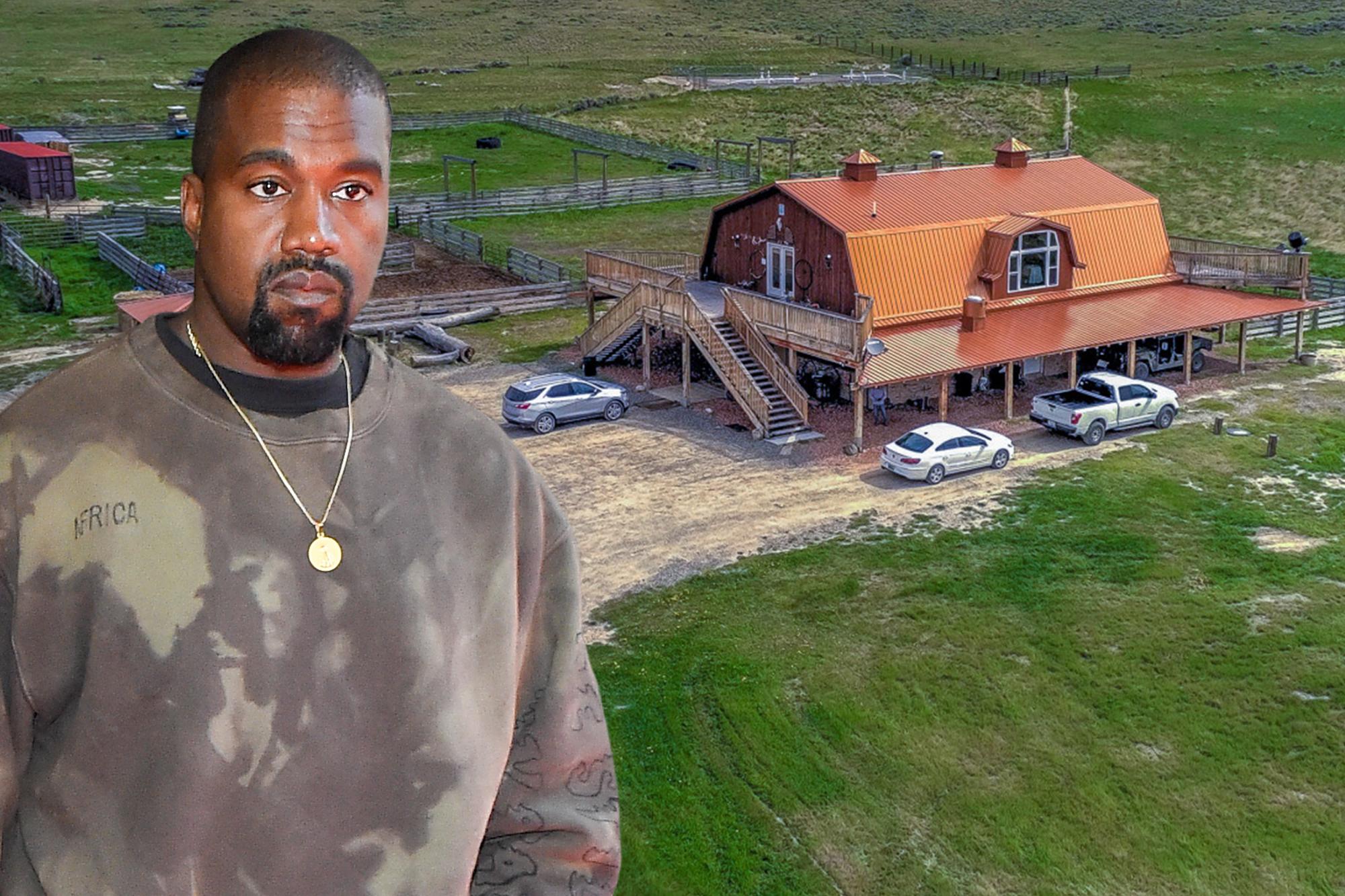 Kanye West Kim Kardashian Buy Huge 14m Ranch In Wyoming
