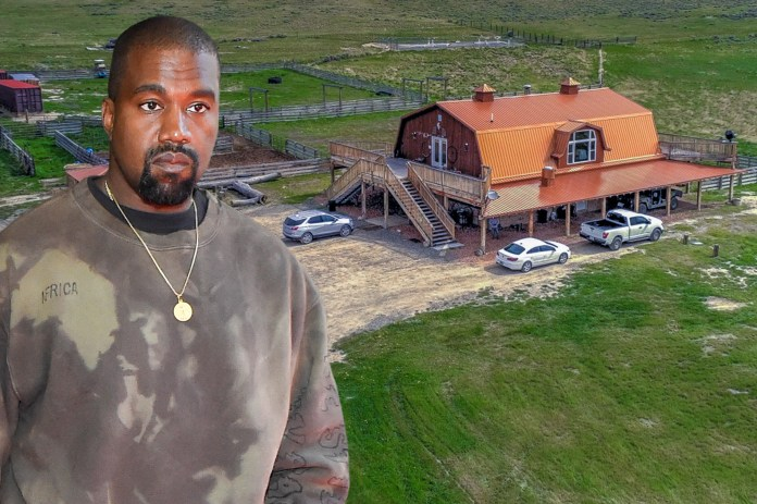 Kanye West, Kim Kardashian buy huge $14M ranch in Wyoming