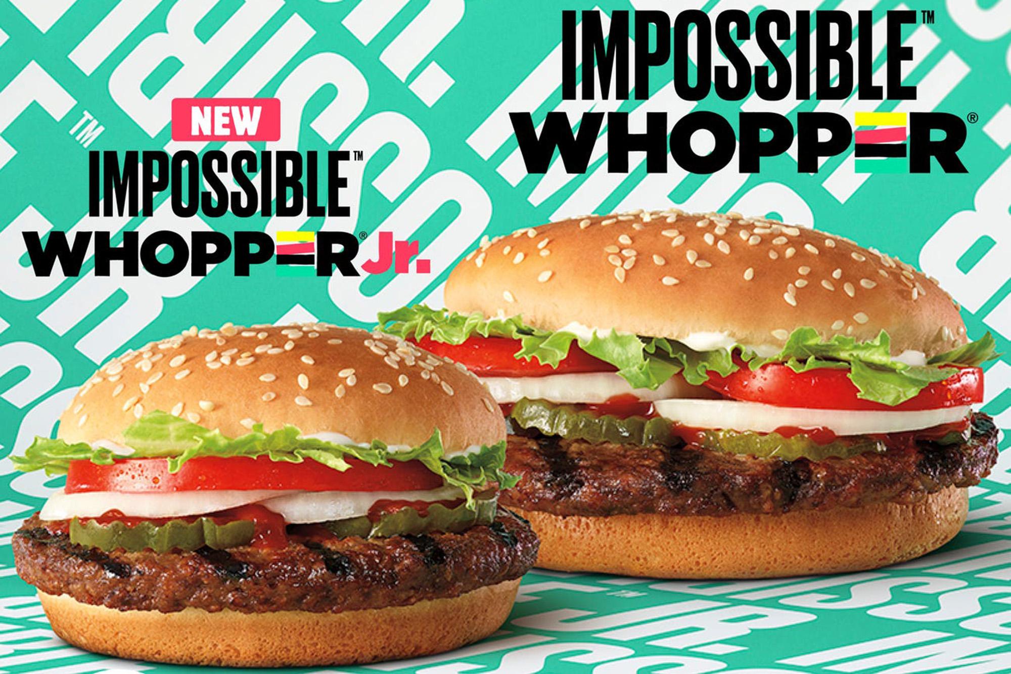 Burger King Expands Impossible Burger Menu To Kids Meals