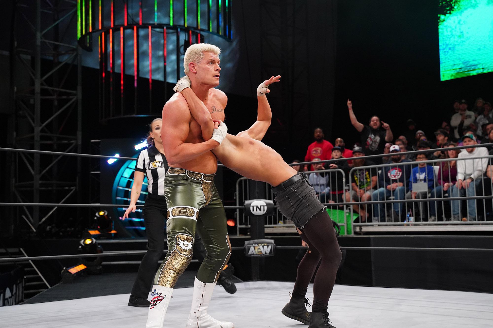 Cody Rhodes: AEW's 'forbidden door' to NJPW not forbidden at all