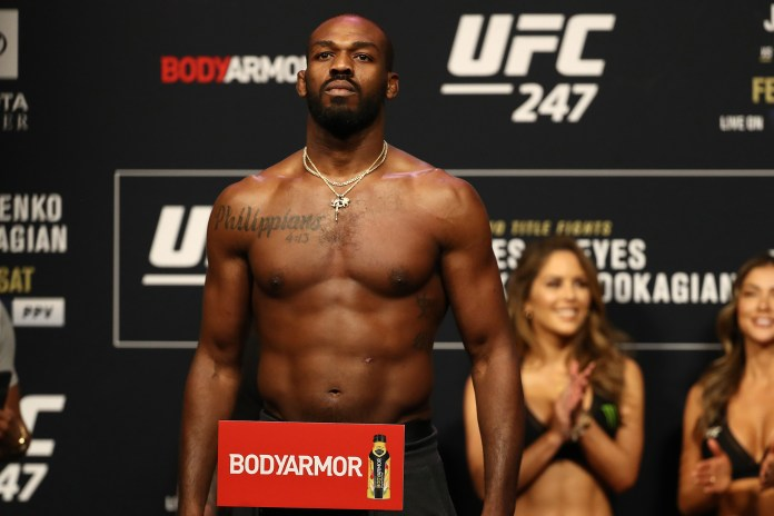 Jon Jones' last light heavyweight fight
