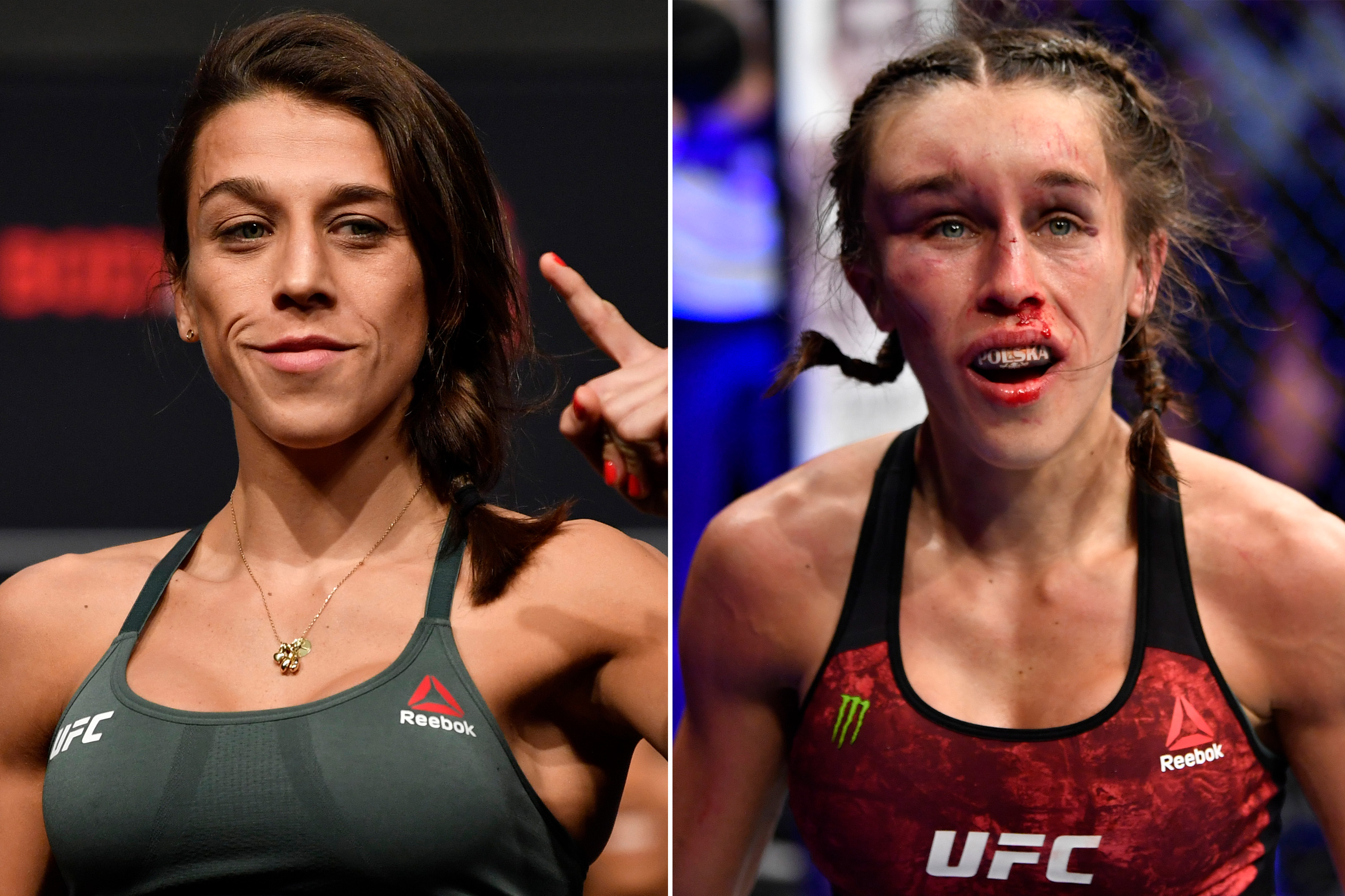 Joanna Jedrzejczyk S Face Brutalized During Ufc 248 Loss