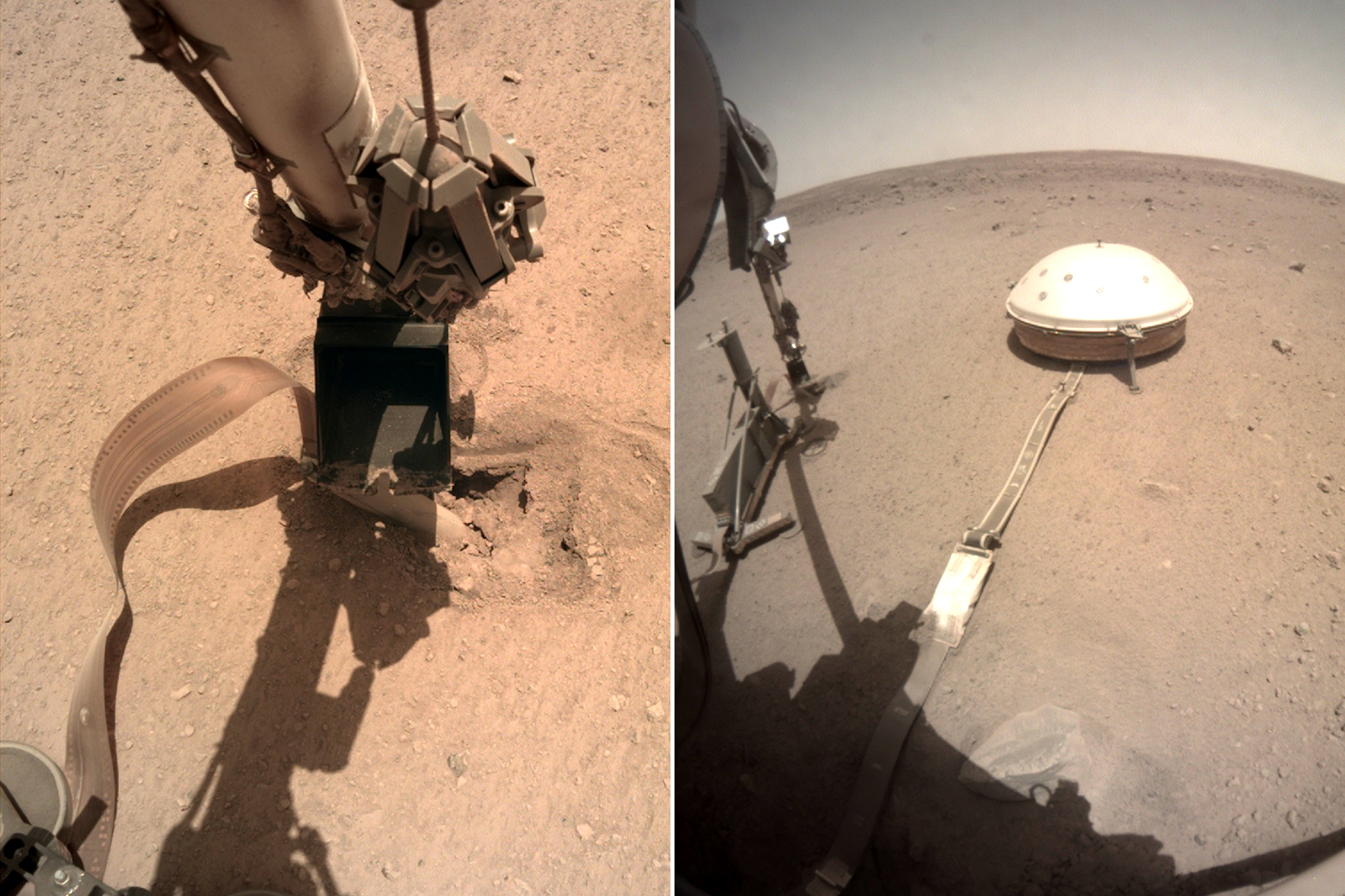 NASA fixes Mars lander by telling it to hit itself with a ...