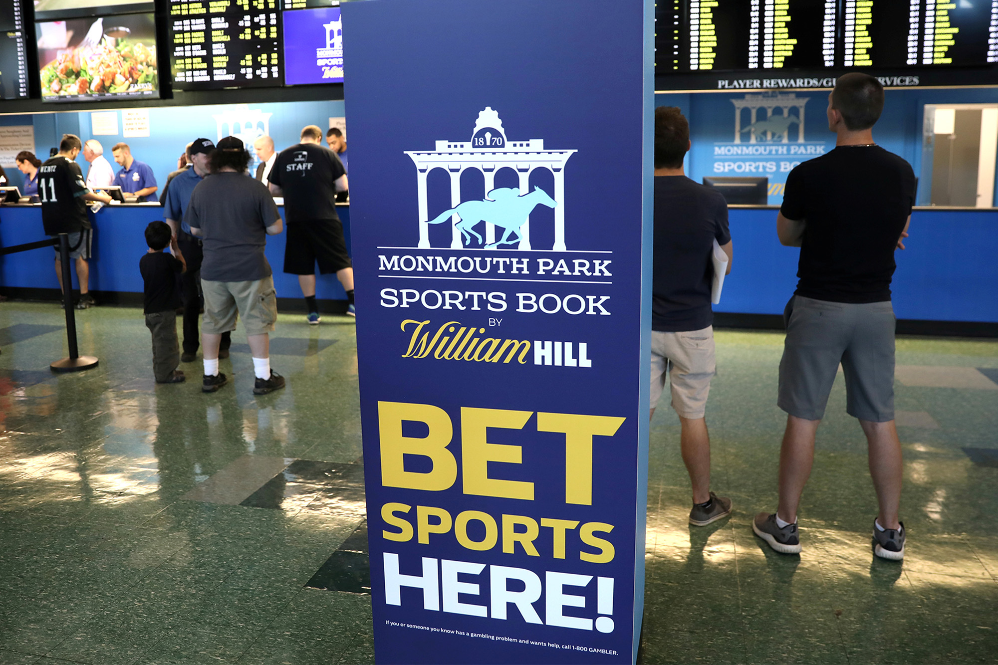 monmouth park sports betting news