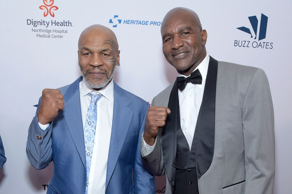 Evander Holyfield: Fight vs. Mike Tyson is 'gonna happen' 1