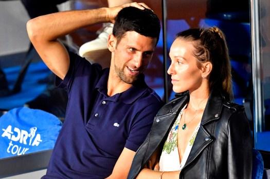 Novak Djokovic, wife Jelena get coronavirus amid Adria ...