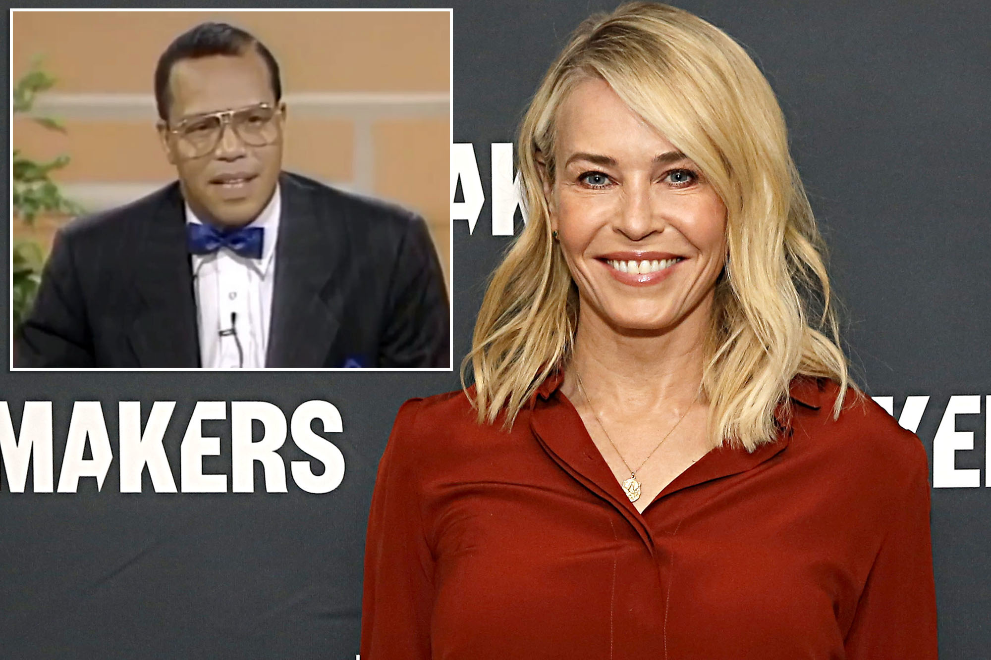 Chelsea Handler Praises Clip Of Louis Farrakhan On Instagram