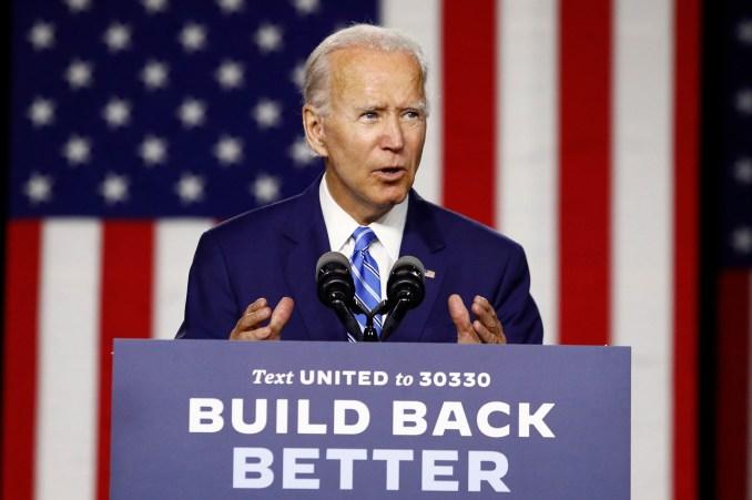 Joe Biden says four black women are on VP shortlist