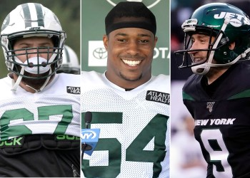 Jets' Brian Winters, Avery Williamson and Sam Ficken battling for jobs
