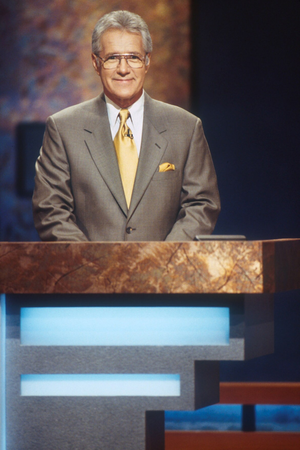 JEOPARDY, host Alex Trebek, (ca. 2005), 1984-. © Sony Pictures Television / Courtesy: Everett Collec