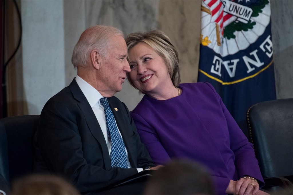 Hillary Clinton 'thrilled' Joe Biden is using the COVID pandemic to push big-government agenda