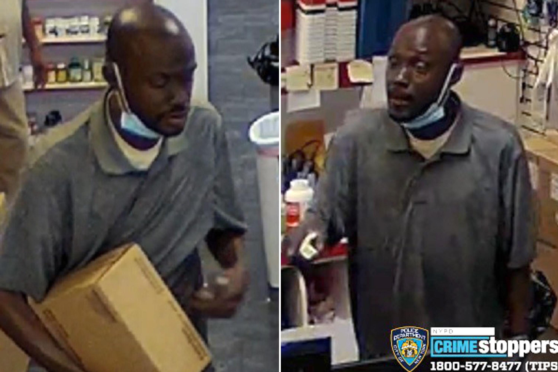 Disturbing video shows man pull knife on Bronx store clerk